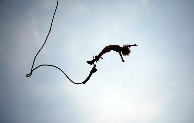 Suspension of belief - a bit like diving off the edge with a rope still attached